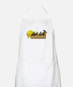 Hardhat Long Wooden Toolbox Apron