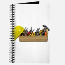 Hardhat Long Wooden Toolbox Journal