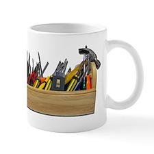 Hardhat Long Wooden Toolbox Mug