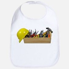 Hardhat Long Wooden Toolbox Bib