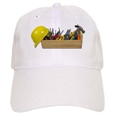 Hardhat Long Wooden Toolbox Baseball Baseball Cap
