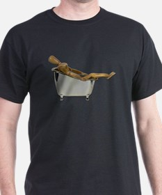 Leaned Back Bathtub T-Shirt