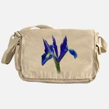 Blue Iris Messenger Bag