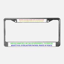 Cute Medicine shoppe License Plate Frame