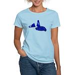 Megaphone Pom Poms Women's Light T-Shirt