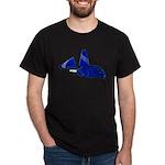 Megaphone Pom Poms Dark T-Shirt