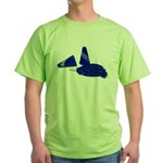 Megaphone Pom Poms Green T-Shirt