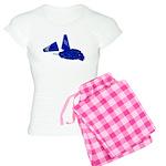 Megaphone Pom Poms Women's Light Pajamas
