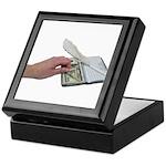 Money Checkbook Keepsake Box