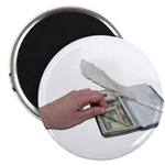 Money Checkbook Magnet
