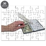 Money Checkbook Puzzle