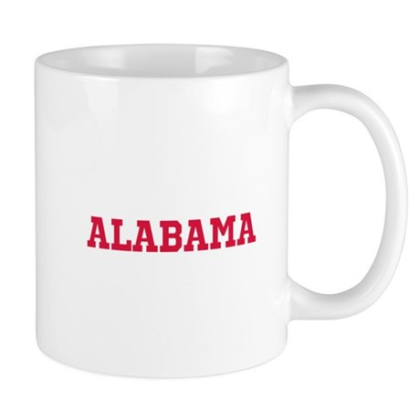 Crimson Alabama Mug