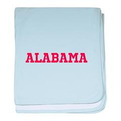 Crimson Alabama baby blanket