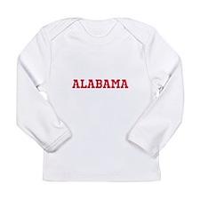 Crimson Alabama Long Sleeve Infant T-Shirt