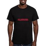 Crimson Alabama Men's Fitted T-Shirt (dark)