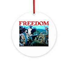 FREEDOM™ Ornament (Round)