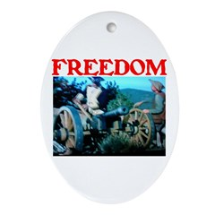 FREEDOM™ Ornament (Oval)