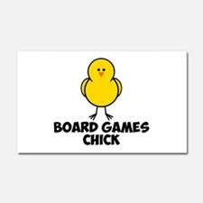 Board Games Chick Car Magnet 20 x 12