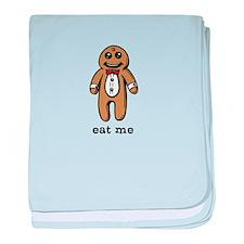Gingerbread Man - Eat Me baby blanket