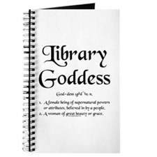 Library Goddess Defined Journal