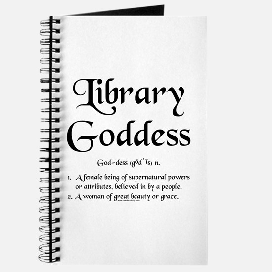 Library Goddess Defined Journal