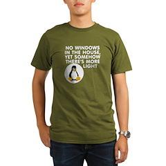No windows Organic Men's T-Shirt (dark)