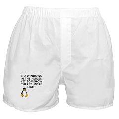 No windows Boxer Shorts