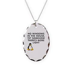 No windows Necklace
