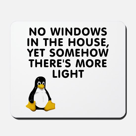 No windows Mousepad