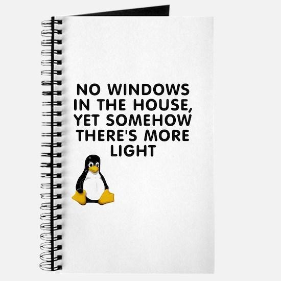 No windows Journal