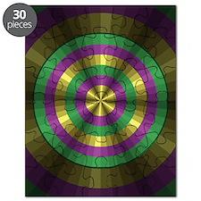 Mardi Gras Illusion Puzzle