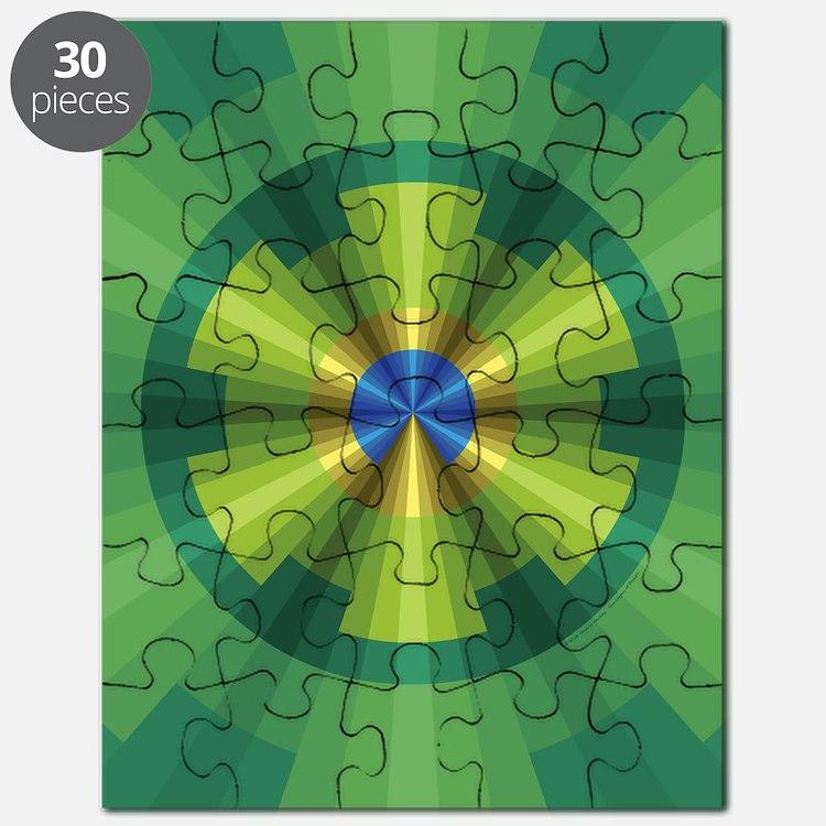 Peacock Illusion Puzzle
