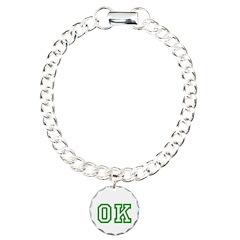 green OK Bracelet