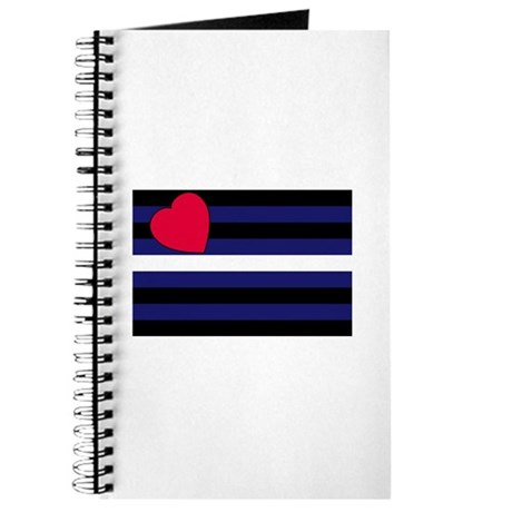 Leather Pride Flag Journal