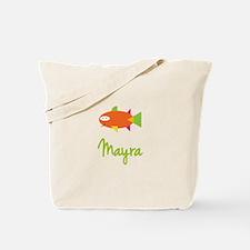 Mayra is a Big Fish Tote Bag