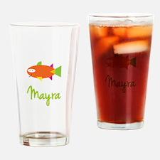 Mayra is a Big Fish Drinking Glass