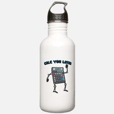 Calc You Later Water Bottle