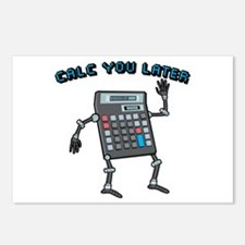 Calc You Later Postcards (Package of 8)
