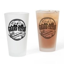 Grand Teton Old Circle Drinking Glass