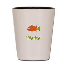Marisa is a Big Fish Shot Glass