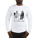 Vampire Has Mixed Blood Type Long Sleeve T-Shirt