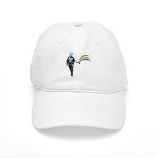 Pepper Spray Cop Rainbow Baseball Cap