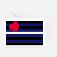 Leather Pride Flag  Greeting Cards (Pk of 10)