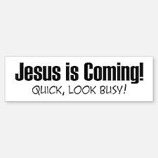 Jesus is Coming! Bumper Bumper Sticker