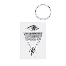 I Parachute Skydiver Keychains