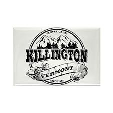 Killington Old Circle Rectangle Magnet