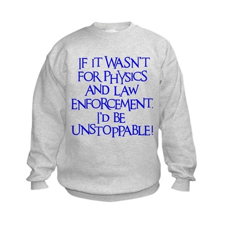 Unstoppable Kids Sweatshirt