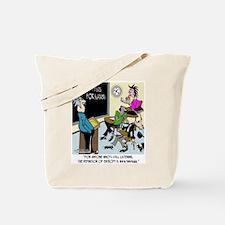 Physics for Slackers Tote Bag