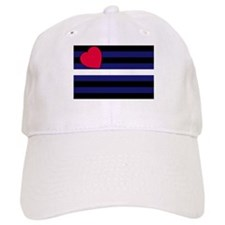 Leather Pride Flag Baseball Cap
