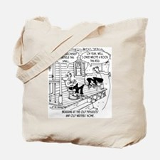 At the Old Physicist Home Tote Bag